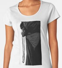 Always with my mala beads. Women's Premium T-Shirt