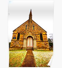 St Paul Pray For Us - Hill End - The HDR Series Poster