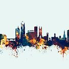 Derby England Skyline by Michael Tompsett