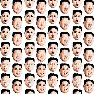 Kim Jong Un Pattern by popdesigner