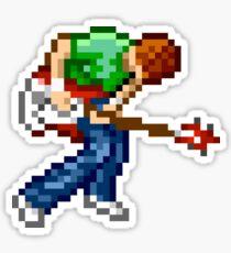 Scott Pilgrim 8-bit Pixel Art Sticker