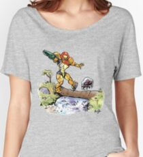 Samus and Metroid Women's Relaxed Fit T-Shirt