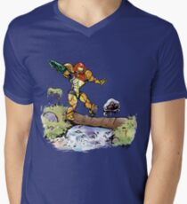 Samus and Metroid Men's V-Neck T-Shirt