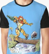 Samus and Metroid Graphic T-Shirt