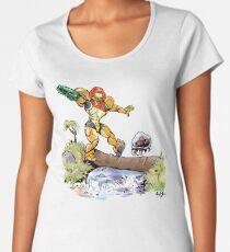 Samus and Metroid Women's Premium T-Shirt