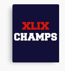 XLIX Champs Canvas Print