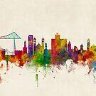 Middlesbrough England Skyline by Michael Tompsett