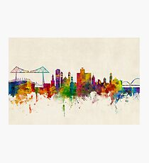 Middlesbrough England Skyline Photographic Print