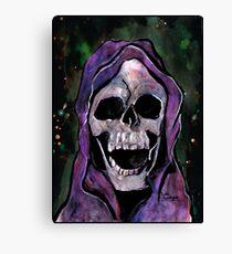 Death - Grim Reaper - Skull Canvas Print