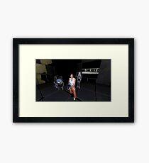 Chell, Atlas and P-Body [Portal 2] Framed Print