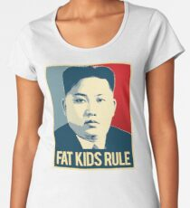 Fat Kids Rule Women's Premium T-Shirt