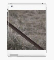 Vintage Barbed Wire Fence iPad Case/Skin
