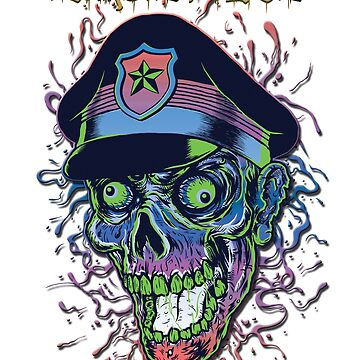 Zombie Police by bstees