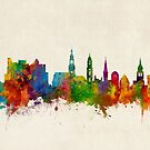 Heidelberg Germany Skyline by Michael Tompsett