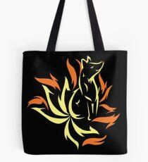 Ninetales/Kitsune Print Tote Bag