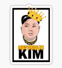 Notorious Kim Jong Un Sticker