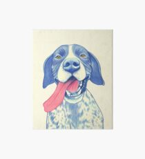 Jola #01 - German Short-Haired Pointer Art Board