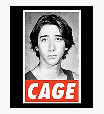 Obey Mr Cage Photographic Print