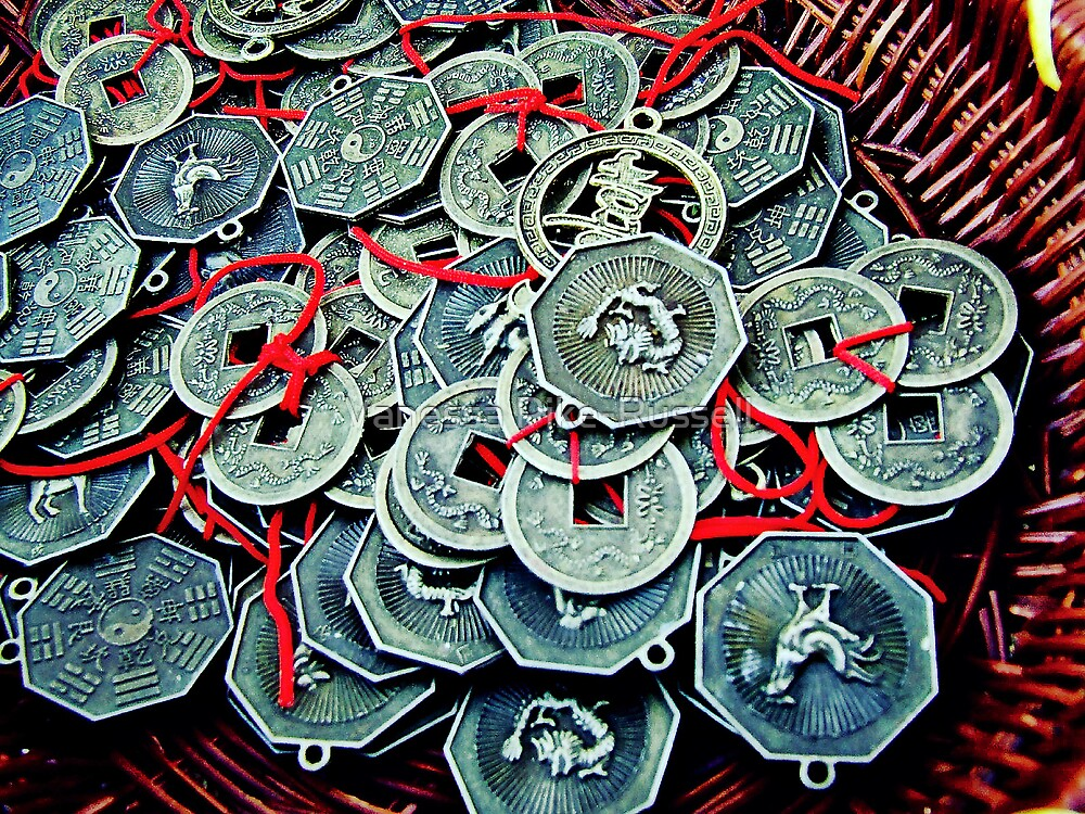 Coins by Vanessa Pike-Russell