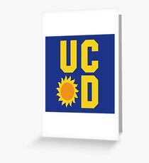 Buffy - Sunnydale University Greeting Card