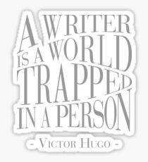 A Writer is a World Sticker
