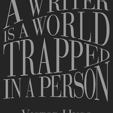 A Writer is a World by Svava