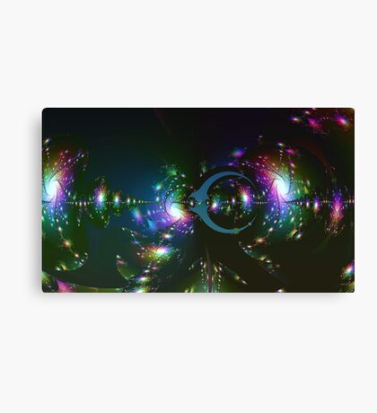 Reflections on a Solar Sea Canvas Print