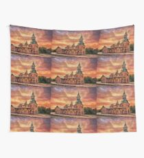Point Of Rocks Train Station Wall Tapestry