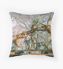 leaping Throw Pillow