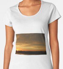 Sunset in Spokane, Washington USA Women's Premium T-Shirt