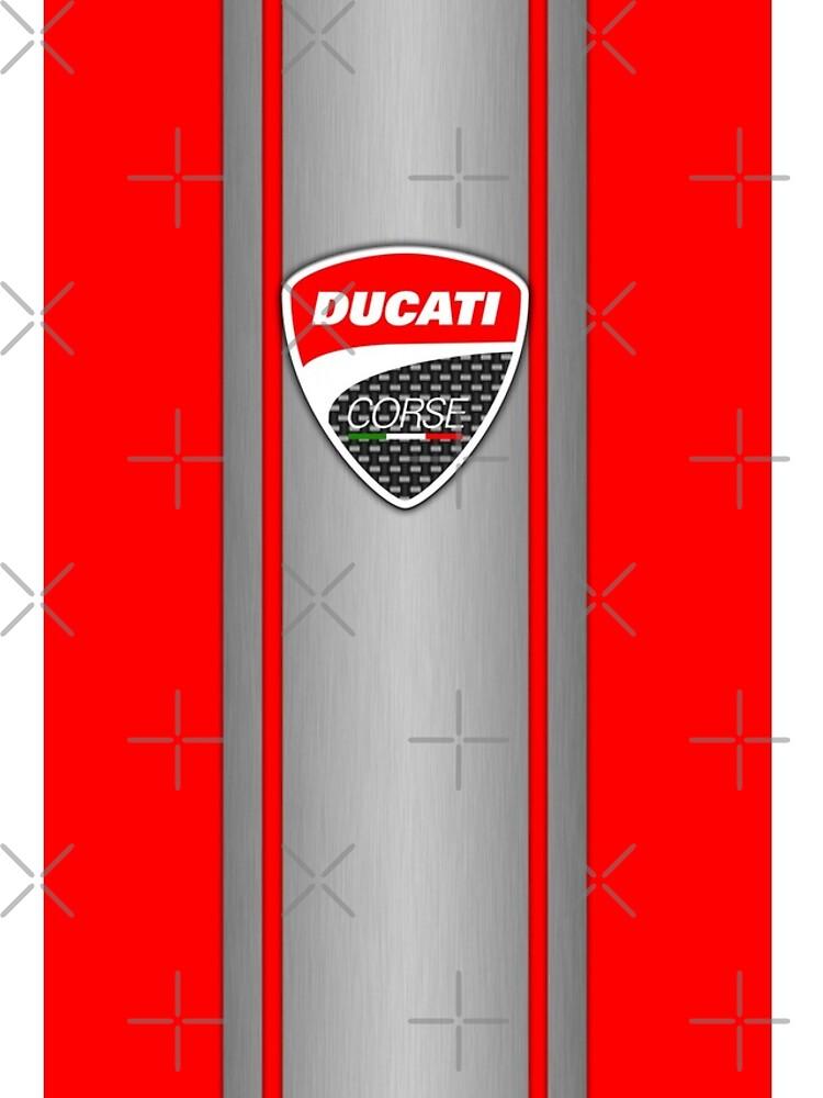 Ducati Corse Stahlhaut von AmandaWelsh