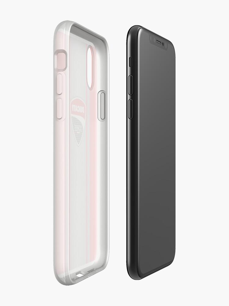 Alternative Ansicht von Ducati Corse Stahlhaut iPhone-Hüllen & Cover