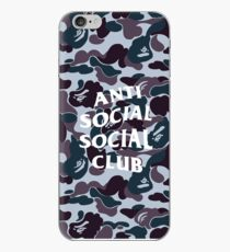 Bape x assc style case  iPhone Case