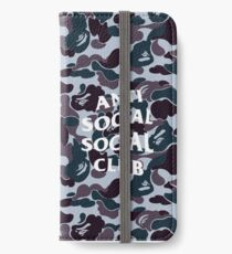 Bape x assc style case  iPhone Wallet/Case/Skin