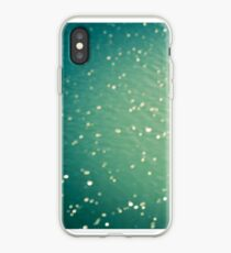 Green ocean blur iPhone Case