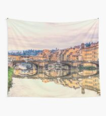 Ponte Vecchio Florence Italy Wall Tapestry