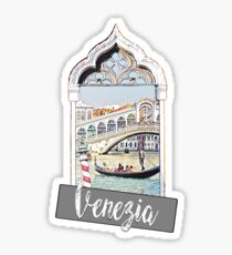 Venice Venezia city Italia Sticker