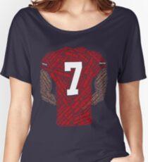 Colin Kaepernick: Das Gewicht tragen Baggyfit T-Shirt