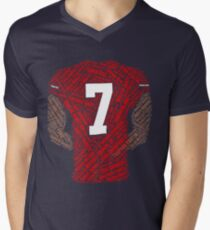 Colin Kaepernick: Carrying the Weight Men's V-Neck T-Shirt