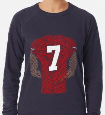 Colin Kaepernick: Carrying the Weight Lightweight Sweatshirt