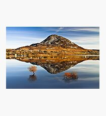 Tranquil Errigal - Ireland Photographic Print