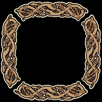 Celtic Knotwork Square by kayakcapers