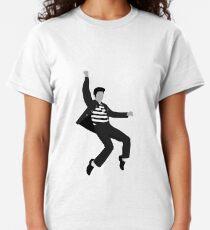 Elvis Jailhouse Rock Pose Classic T-Shirt