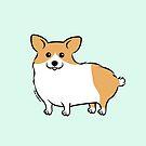 Cute Corgi Puppy Dog by zoel