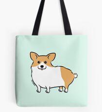 Cute Corgi Puppy Dog Tote Bag