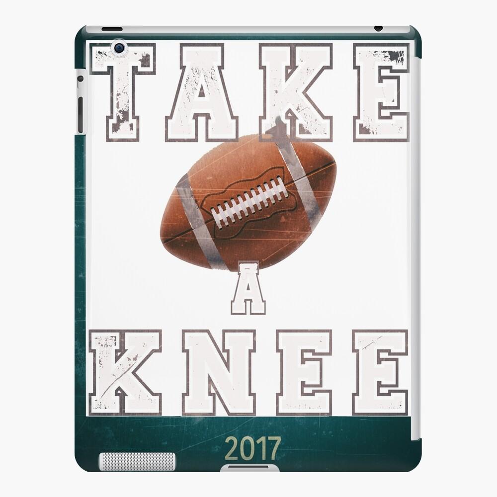 Protesta del himno de Take a Knee 2017 Funda y vinilo para iPad