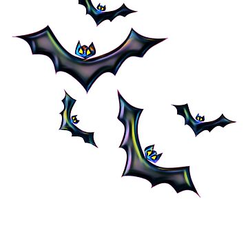 Halloween Bats by DCPCreative
