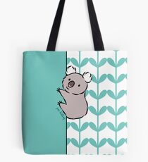 Clinging Koala  Tote Bag