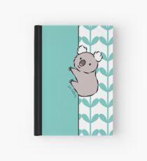 Clinging Koala  Hardcover Journal