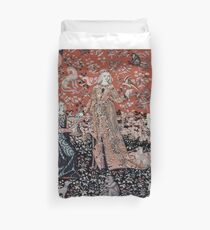Lady & the Unicorn Tapestry Duvet Cover